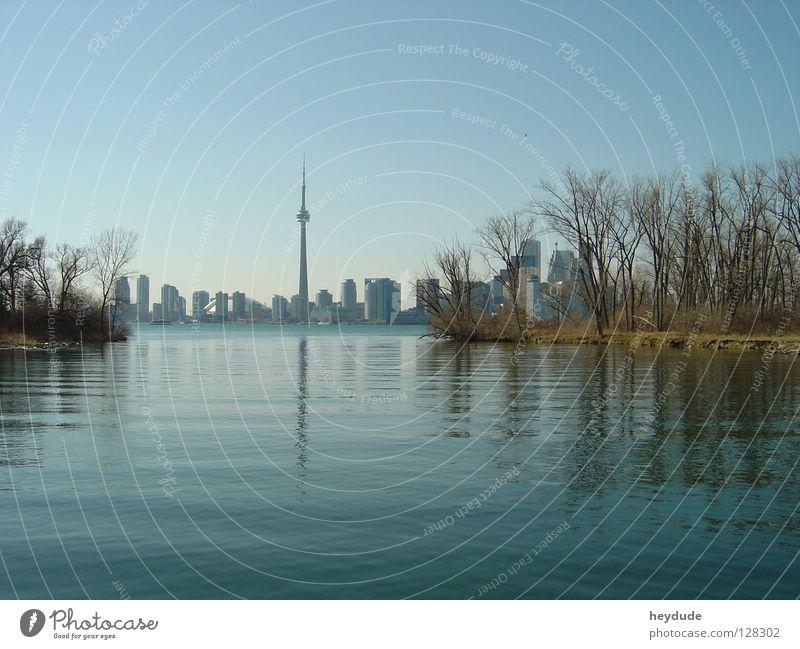 Skyline Toronto CN Tower Kanada Ontario Toronto Island Lake Ontario
