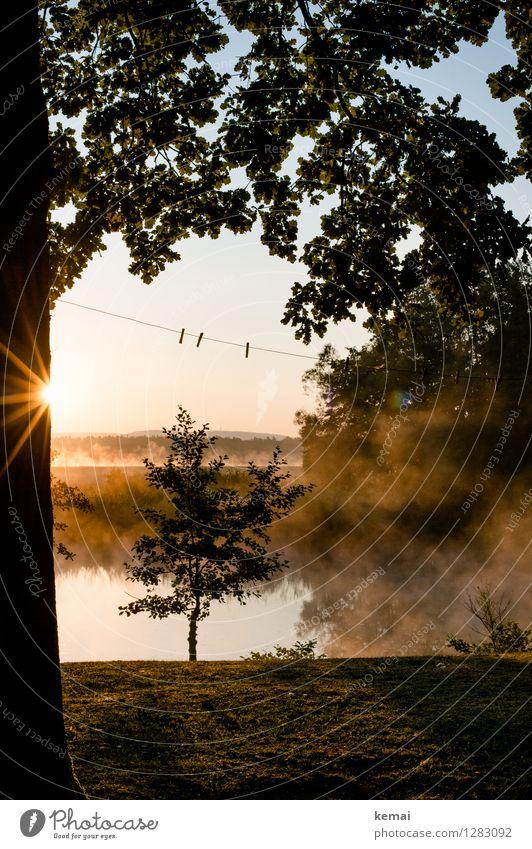 0815 AST | Wäscheleine Freizeit & Hobby Ferien & Urlaub & Reisen Tourismus Ausflug Abenteuer Camping Umwelt Natur Landschaft Sonne Sonnenaufgang Sonnenuntergang