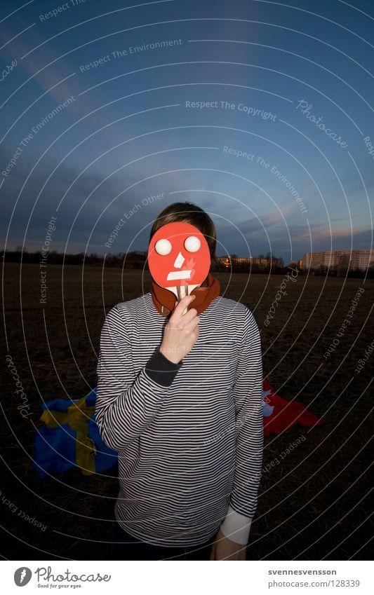 Gesichtsstraffung Mann Gesicht Auge Feste & Feiern Mund Nase Bekleidung Ball festhalten Maske Karneval ausdruckslos Grimasse Scham Sportler Klimawandel