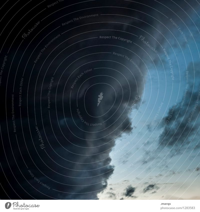 2500 | Zeus Himmel Natur Gesicht Umwelt außergewöhnlich bedrohlich Unwetter skurril Gewitterwolken Naturgewalt Wettergott