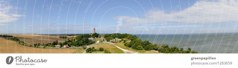 Kap Arkona Rügen Ferien & Urlaub & Reisen Tourismus Ausflug Sightseeing Sommerurlaub Strand Meer Insel Fossilien Fahrradfahren wandern Leuchtturm Landschaft