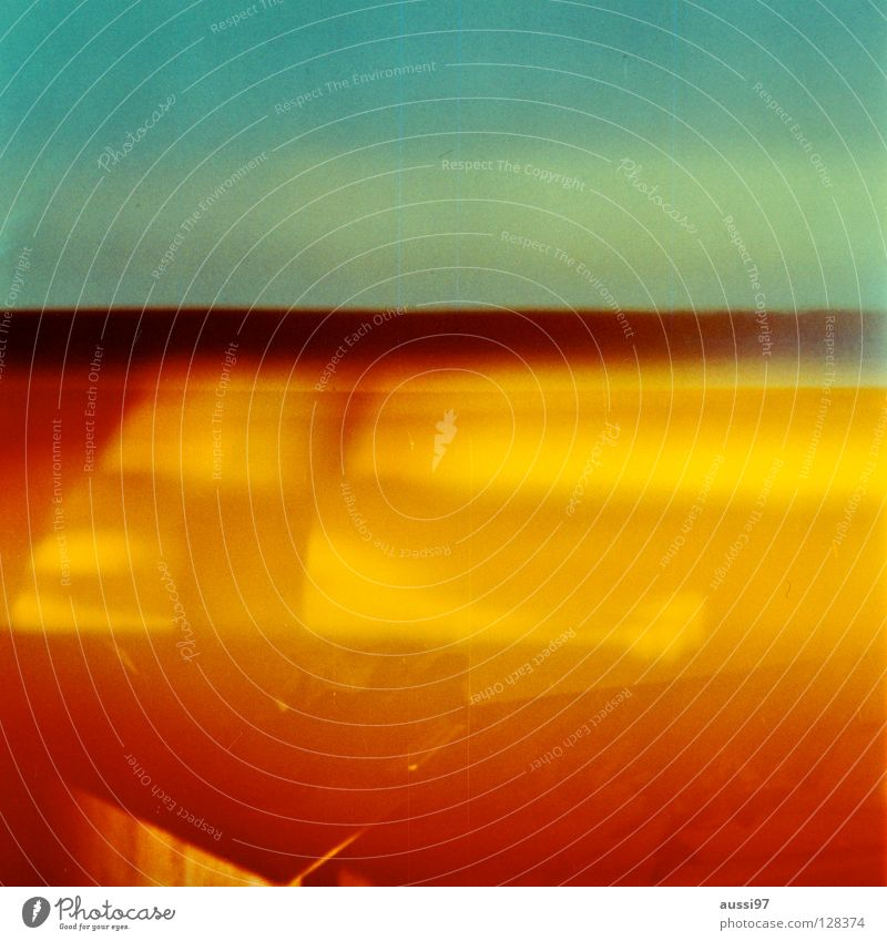 venturesome 4 Licht Explosion gelb Holga abstrakt Farbe Lomografie Reflexion & Spiegelung Licht auf Film Lightleaks