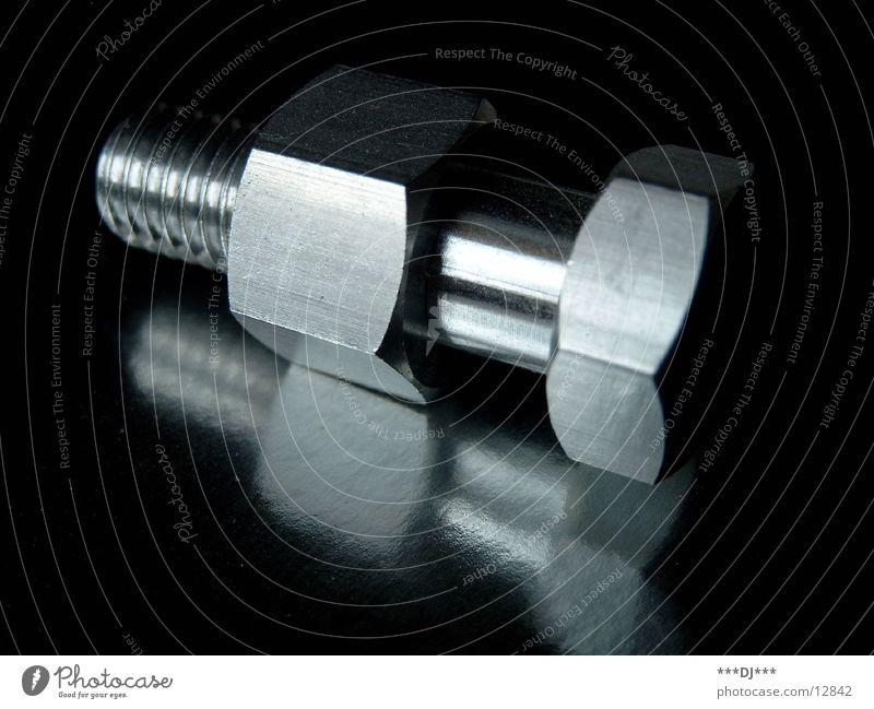 Schraube Metall Industrie Werkzeug Schlüssel Aluminium