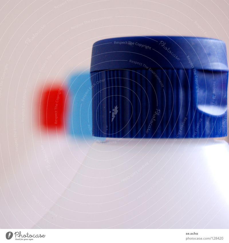 Alles sauber? Farbe Sauberkeit Kunststoff Flasche Chemie Haushalt Behälter u. Gefäße Haushaltschemikalien Verschluss Reinigungsmittel