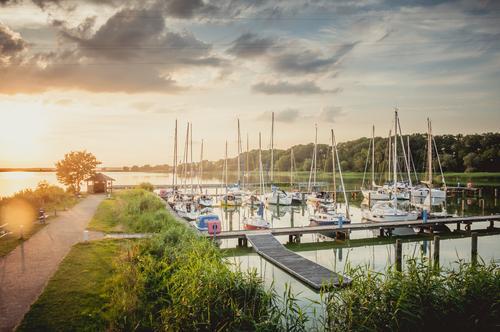 Sommerhafen Natur Ferien & Urlaub & Reisen Wasser Landschaft Reisefotografie Glück See Wasserfahrzeug Freizeit & Hobby Zufriedenheit Luft Kraft Idylle genießen