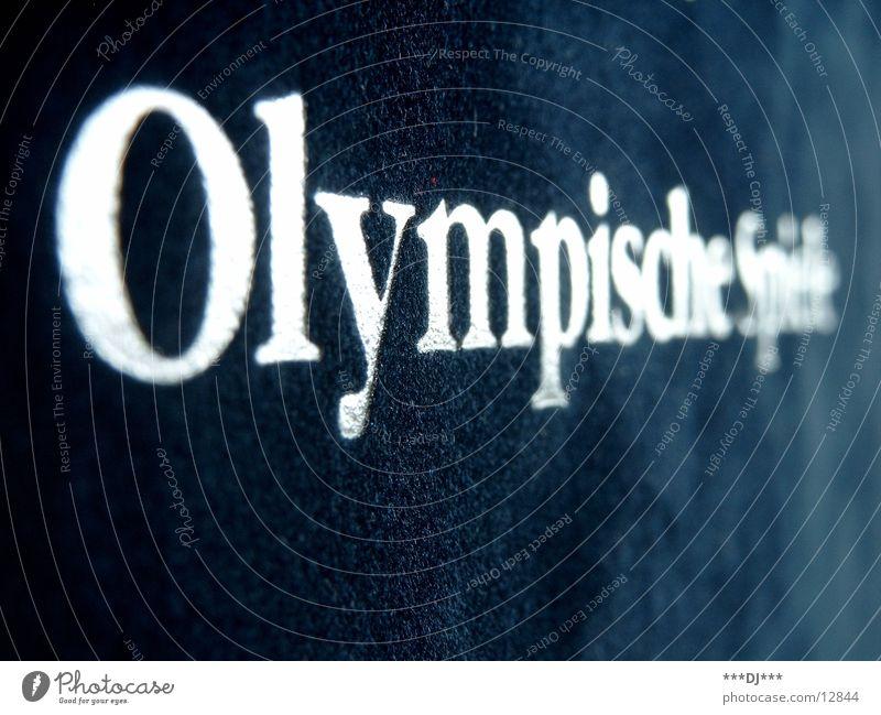 Die Olympischen Spiele Sport Spielen gold Erfolg silber Olympiade Verlierer Bronze