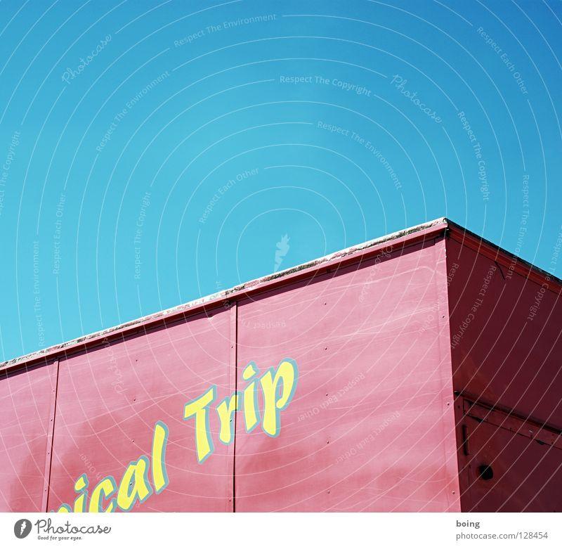 Transport I Ferien & Urlaub & Reisen Ausflug Verkehr Schriftzeichen Buchstaben Güterverkehr & Logistik Lastwagen Kiste Container Spedition
