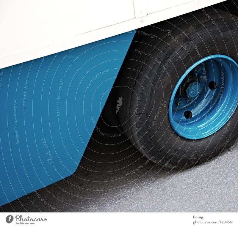 Transport III Kiste Lastwagen Spedition Güterverkehr & Logistik Verkehr Felge Autobahn Verkehrsstau Pause Industrie Ferien & Urlaub & Reisen verschiffen Übersee