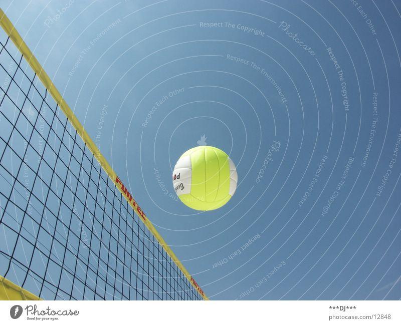 Beach-Volleyball Sonne Freude Strand Sport Spielen Sand Ball Sportveranstaltung Volleyball