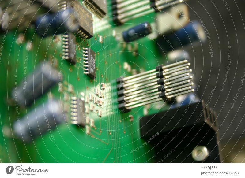 Platine elektronisch widersetzen Steuerelemente Telekommunikation Telefonanlage