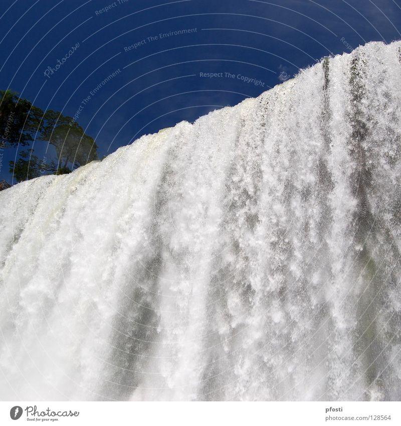 agua...sin gas Natur Wasser Himmel weiß blau kalt Park nass gefährlich Fluss fantastisch Wildtier feucht Bach Wasserfall brechen