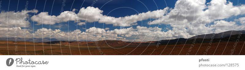 Wolkendach Natur Himmel grün blau ruhig Wolken Einsamkeit Ferne Erholung Berge u. Gebirge Zufriedenheit Stimmung braun Beleuchtung wandern Wind
