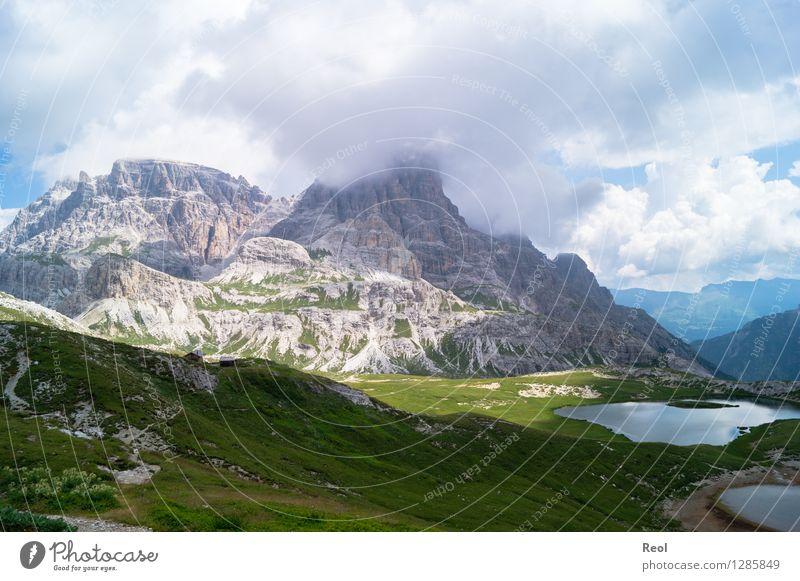 Dolomiten III Ferien & Urlaub & Reisen Tourismus Ausflug Sommerurlaub Berge u. Gebirge Umwelt Natur Landschaft Urelemente Erde Himmel Wolken schlechtes Wetter
