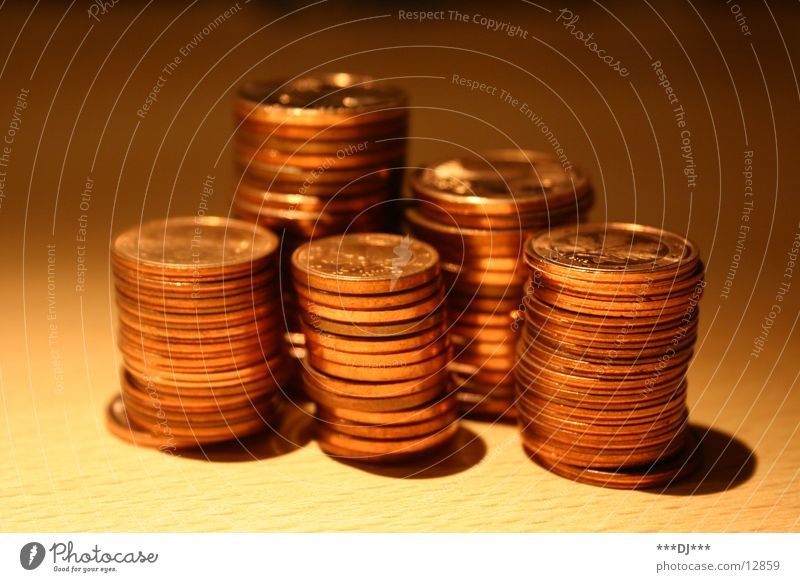 Geld stinkt nicht! Geld Europa bezahlen Geldmünzen kupfer Bronze Cent Schulden leasen Prägung