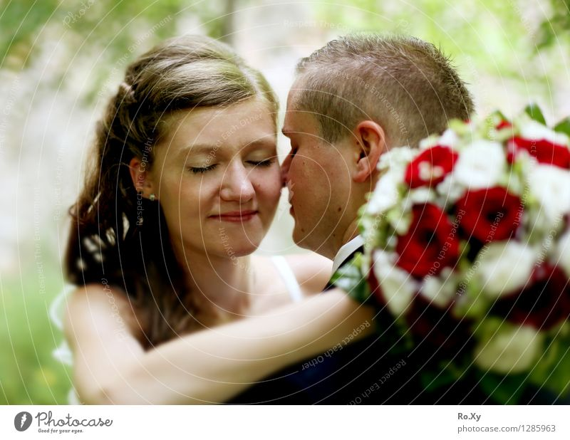 Ein bisschen Zweisamkeit genießen.... Mensch Frau Jugendliche Mann 18-30 Jahre Gesicht Erwachsene Auge Liebe Gefühle feminin Haare & Frisuren Kopf Paar Park
