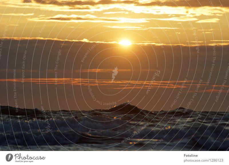 unruhig Himmel Natur Sommer Wasser Meer Wolken Umwelt Wärme natürlich wild frisch Wellen nass Urelemente Nordsee Wellengang