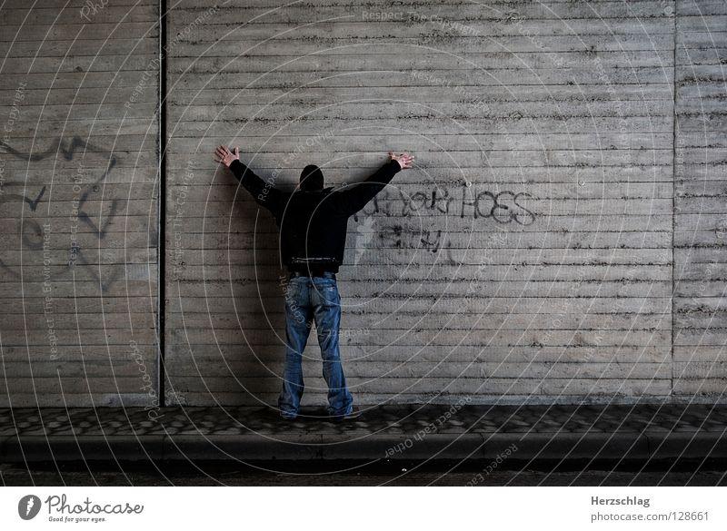 Alles meinzz ! Mensch Wand Mauer Macht Reihe Fragen Besitz