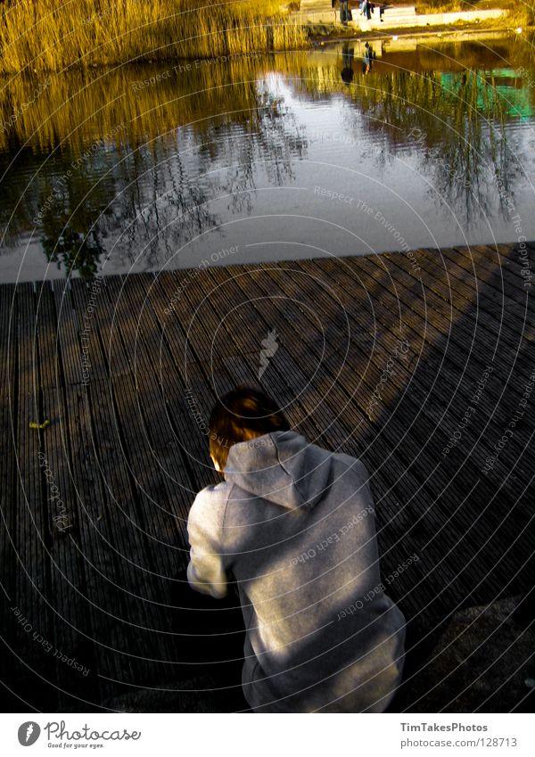 tired Landkreis Böblingen Stuttgart See Reflexion & Spiegelung Trauer Verzweiflung lake timtakesphotos