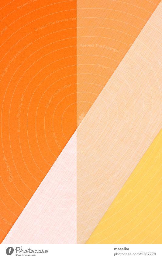 abstrakte Papiergestaltung Stil Design Dekoration & Verzierung Handwerk Kunst Linie gelb Zufriedenheit Idee Inspiration Kreativität Rätsel Oberfläche Geometrie