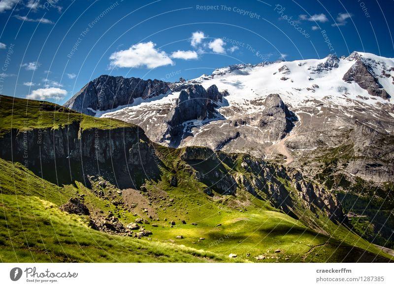 Dolomiten V Natur Ferien & Urlaub & Reisen blau grün Sommer Erholung Landschaft ruhig Berge u. Gebirge Freiheit außergewöhnlich Freizeit & Hobby ästhetisch