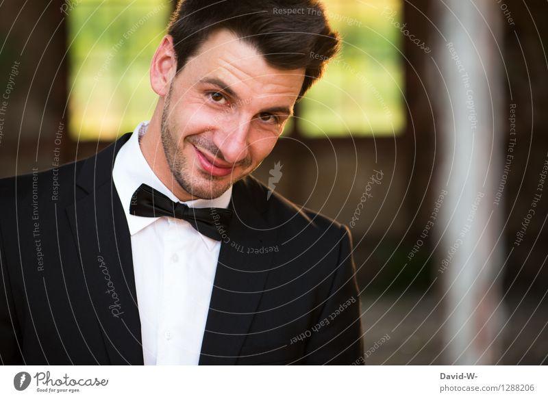 Der perfekte Schwiegersohn Mensch Frau Jugendliche schön Junger Mann Freude 18-30 Jahre Gesicht Erwachsene Leben Stil Glück Feste & Feiern Lifestyle Business