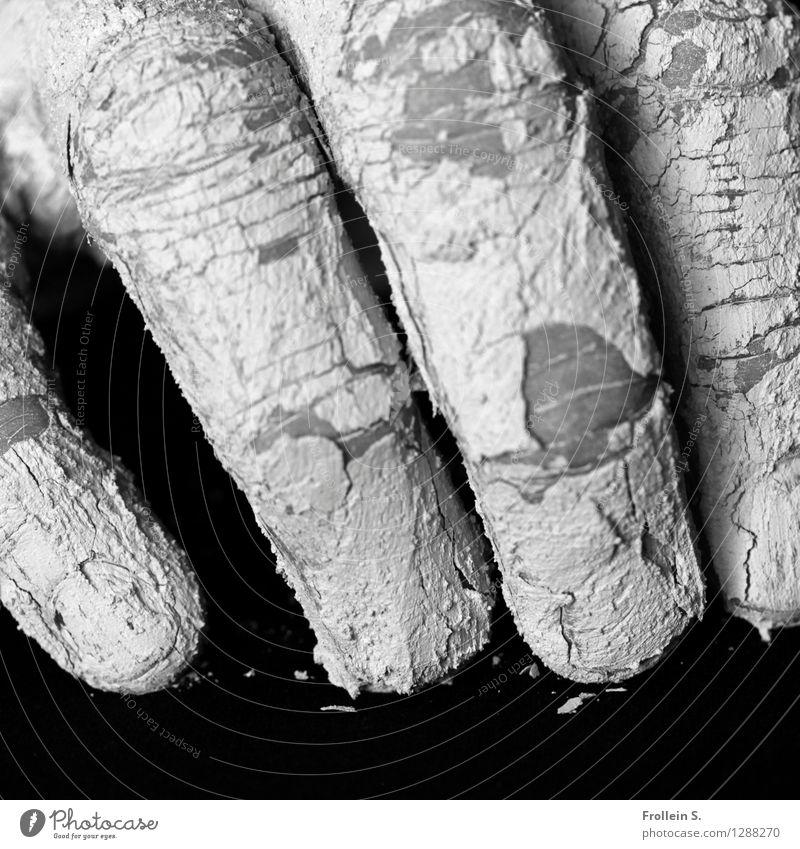 Touch Mensch Mann Erwachsene dreckig ästhetisch Haut Finger trocken Riss Sinnesorgane Haptik Töpfer