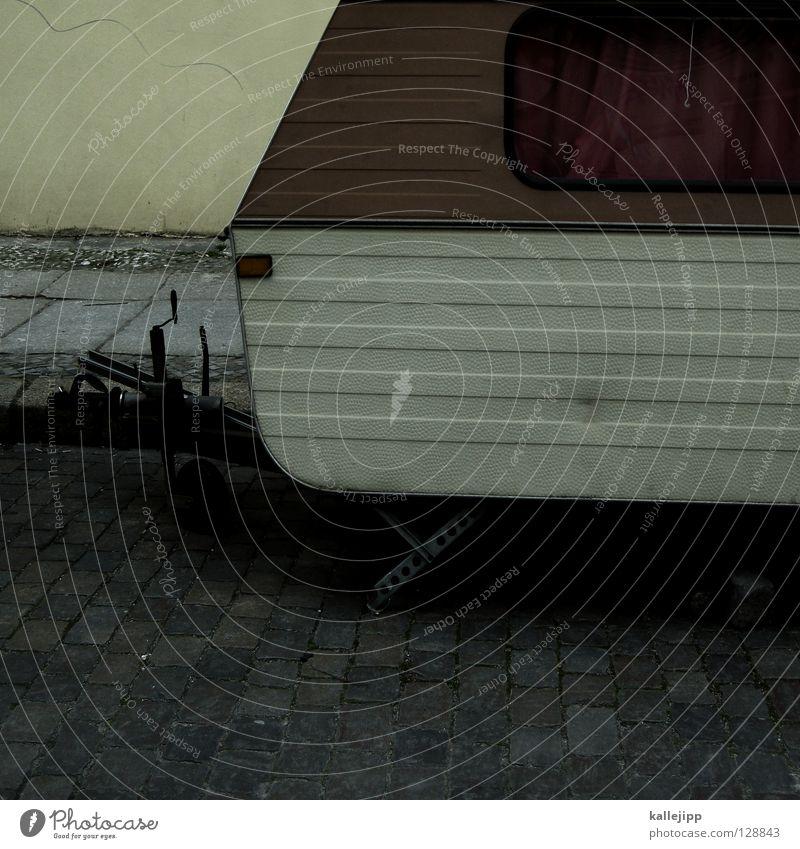 karo macht urlaub Muster Tarnung Wohnwagen Wohnmobil Streifen Ferien & Urlaub & Reisen Freizeit & Hobby Lifestyle Osten Fenster Vorhang Kupplung Schlepper PKW