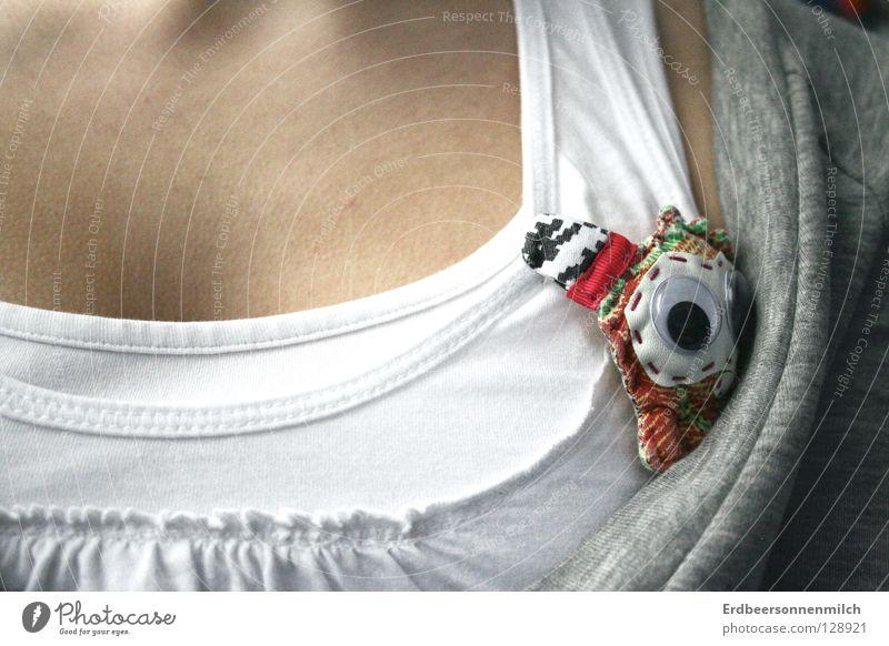 Verstecken wäre besser weiß Tier Bekleidung süß T-Shirt Top