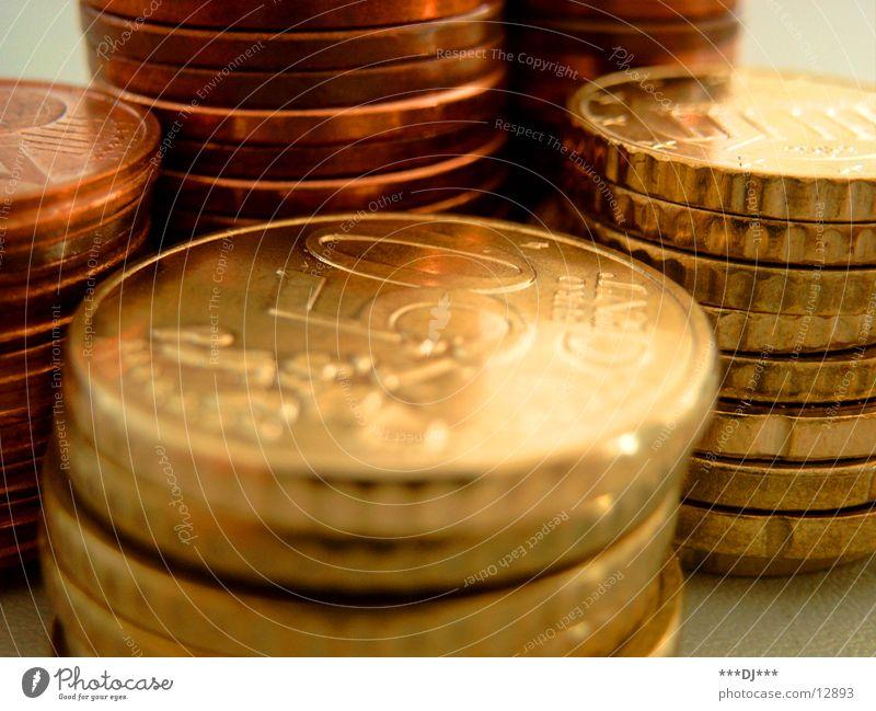 Cent über Cent ...! Geld leasen bezahlen Money Moneten Euro Miete rechnen