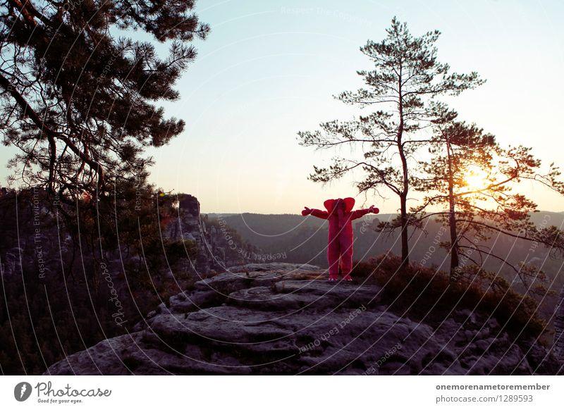 Knuddeln! Freude Liebe Spielen Kunst rosa ästhetisch Umarmen Kunstwerk Elefant Kuscheln spaßig Unsinn Spaßvogel Elbsandsteingebirge Liebesbekundung Liebesgruß
