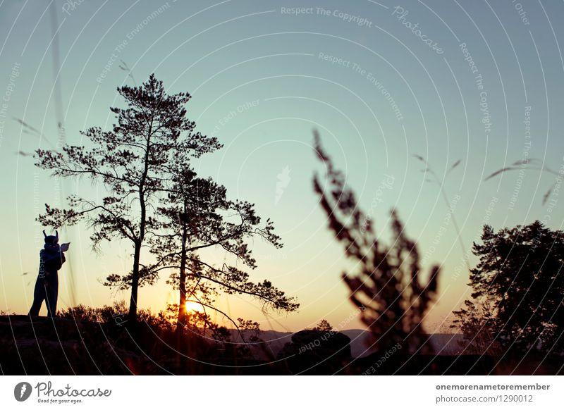 Morning Sun Kunst Kunstwerk ästhetisch Monster Ungeheuer ungeheuerlich Außerirdischer außerirdisch Wald Surrealismus Kinofilm fiktiv Natur Endzeitstimmung
