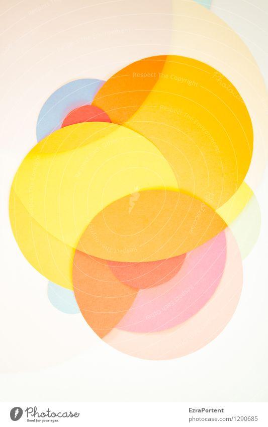 bubbles elegant Stil Design Basteln Zeichen Linie ästhetisch hell rund blau mehrfarbig gelb orange rosa rot weiß Freude Glück Fröhlichkeit Lebensfreude Farbe