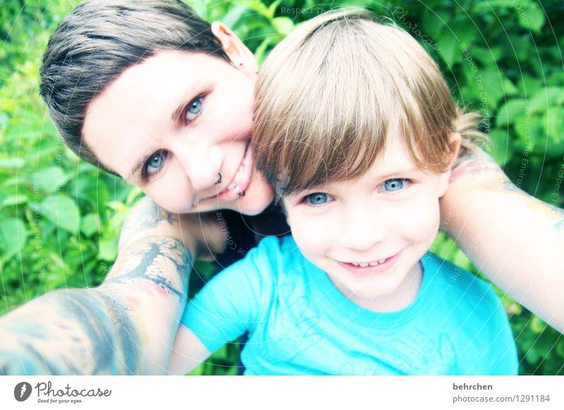 *300*...wat freun wir uns:) Mensch Frau Kind blau grün Gesicht Erwachsene Auge Liebe Junge Glück lachen Familie & Verwandtschaft Haare & Frisuren Kopf Kindheit