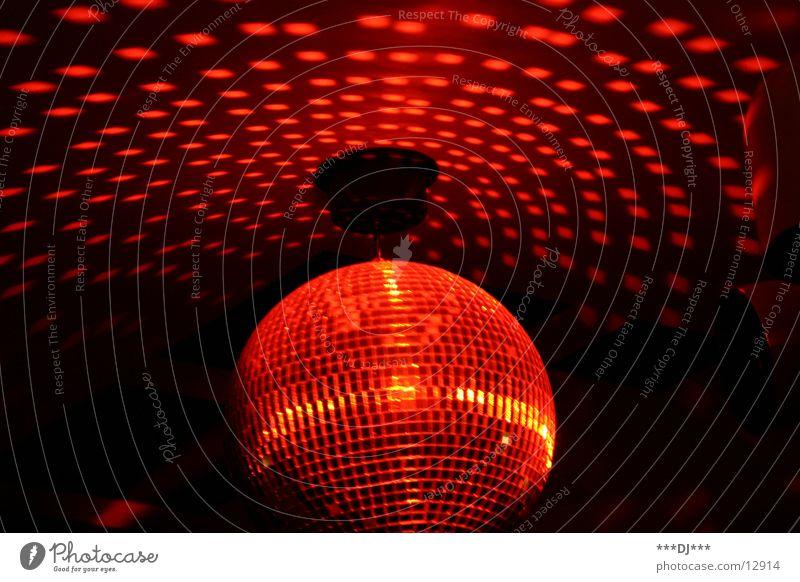 Disco, disco!!! rot Party Bewegung Beleuchtung Feste & Feiern Disco Freizeit & Hobby Kugel drehen