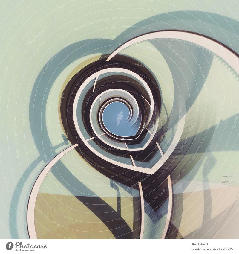 Die Geometrie der Stunde Design Medienbranche Kunstwerk Architektur Stadt Haus Mauer Wand Fassade Linie Bewegung Strukturen & Formen Grafische Darstellung