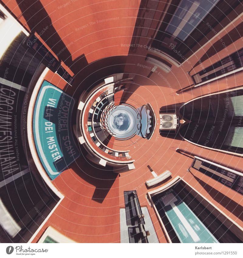 Villa dei Misteri Design Haus Kunst Architektur Stadt Stadtzentrum Bauwerk Gebäude Mauer Wand Fassade Sehenswürdigkeit Bewegung bizarr chaotisch Geschwindigkeit
