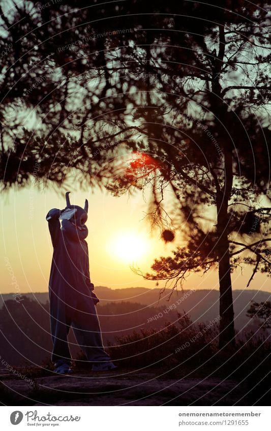 Golden Gun blau Baum Kunst Felsen gold ästhetisch Abenteuer Kunstwerk Karnevalskostüm Pistole Nadelwald Außerirdischer außerirdisch angriffslustig ungeheuerlich Sächsische Schweiz