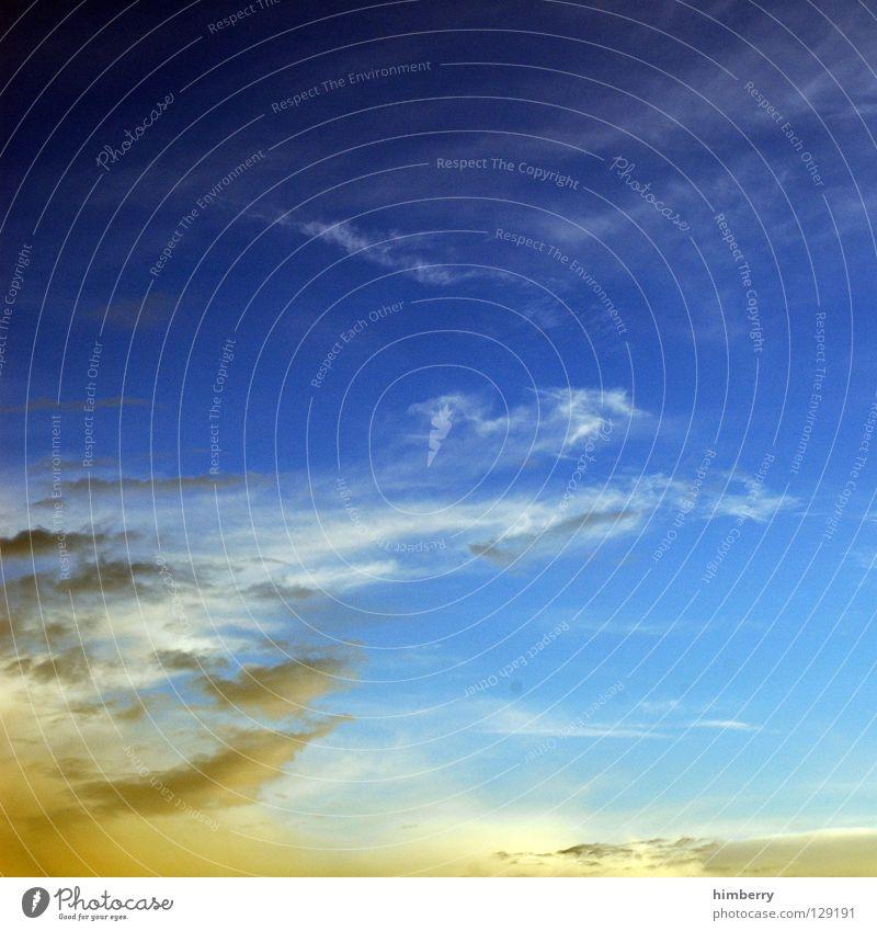 vanilla sky II Himmel Sonne Sommer Wolken Herbst Graffiti Wärme träumen Regen Wetter Klima Sturm schlechtes Wetter Tagtraum Regenwolken