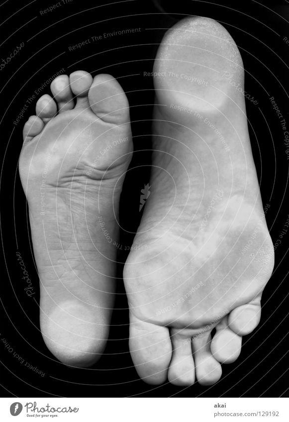 37-46 Freude Fuß Fußspur Zehen zierlich Schwimmhilfe Scan Makroaufnahme Spuren Fußmatte Fußballen