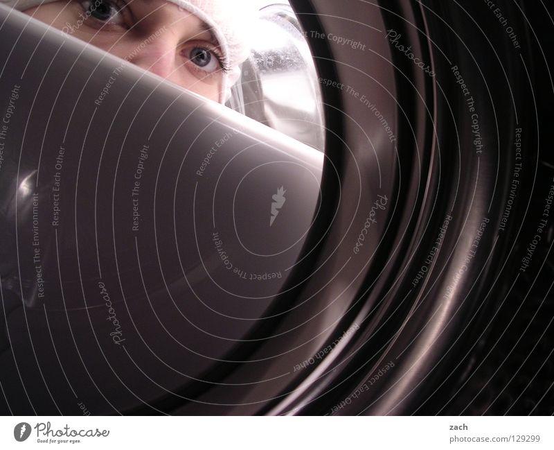 Mein wunderbarer Waschsalon 2 Fenster Metall Glas Industrie Bad Aussicht Loch Strümpfe Wäsche waschen verloren Wäsche Waschmaschine Öffnung Luke Informationstechnologie Bullauge