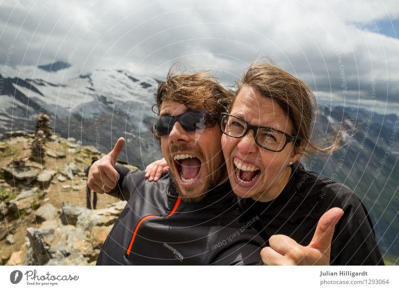 gotit Lifestyle Ferien & Urlaub & Reisen Ausflug Abenteuer Ferne Freiheit Berge u. Gebirge wandern Mensch Junge Frau Jugendliche Junger Mann 2 18-30 Jahre