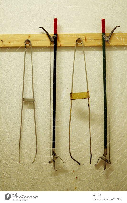 Räumdienstwerkzeug Ordnung Dinge Reinigen Müll Werkzeug Zange