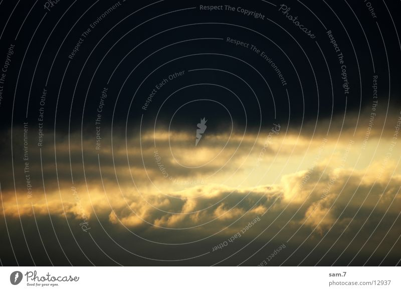Der Himmel öffnet sich Sonne Ferien & Urlaub & Reisen Wolken