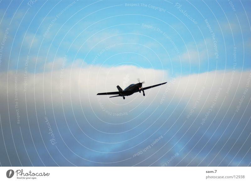 Flieger grüß mir die Sonne Flugzeug frei Luftverkehr gegen privat