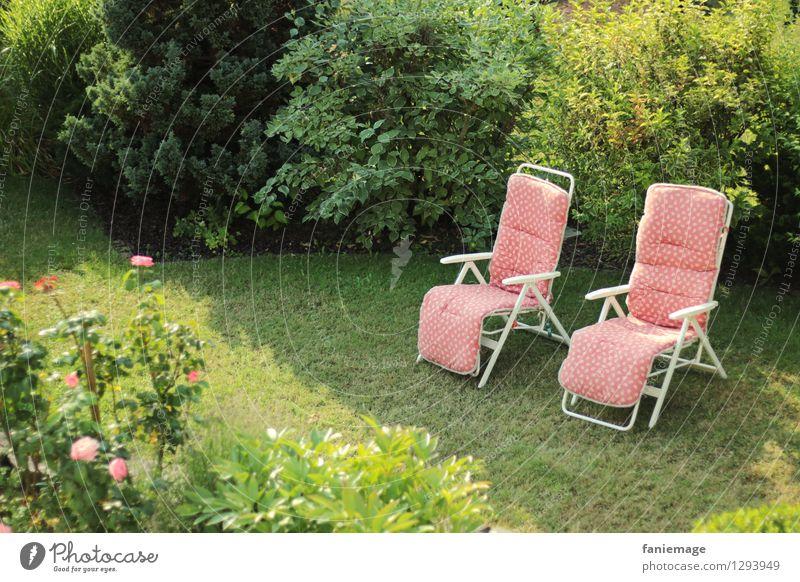 siesta scenery Lifestyle Wellness Wohlgefühl Zufriedenheit Erholung ruhig Ferien & Urlaub & Reisen Sommer Häusliches Leben Garten Möbel Sessel Natur Sonnenlicht