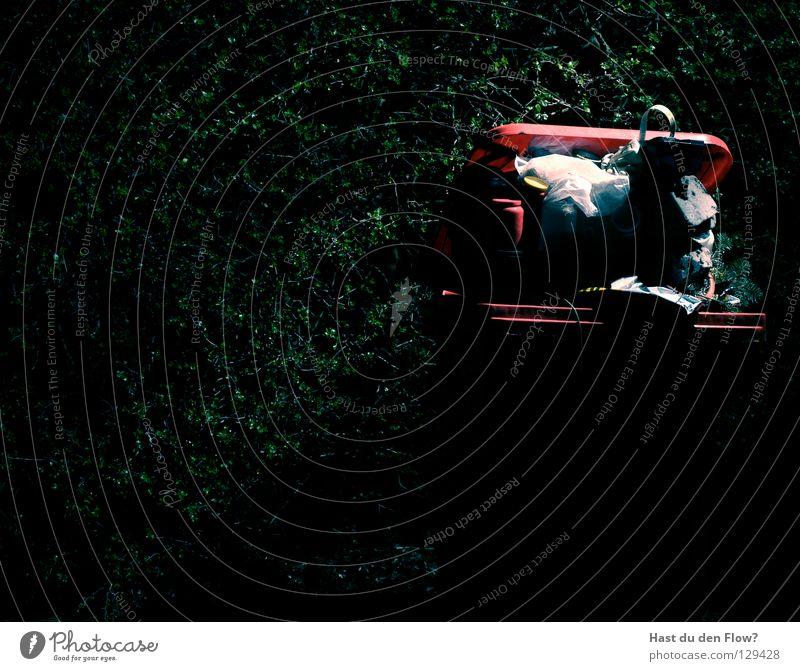 Müll am Theater Farbe dunkel schwarz Gefühle Tod Spielen Lampe hell Energiewirtschaft Dinge Kochen & Garen & Backen Finger Vergänglichkeit Brand heiß Müll