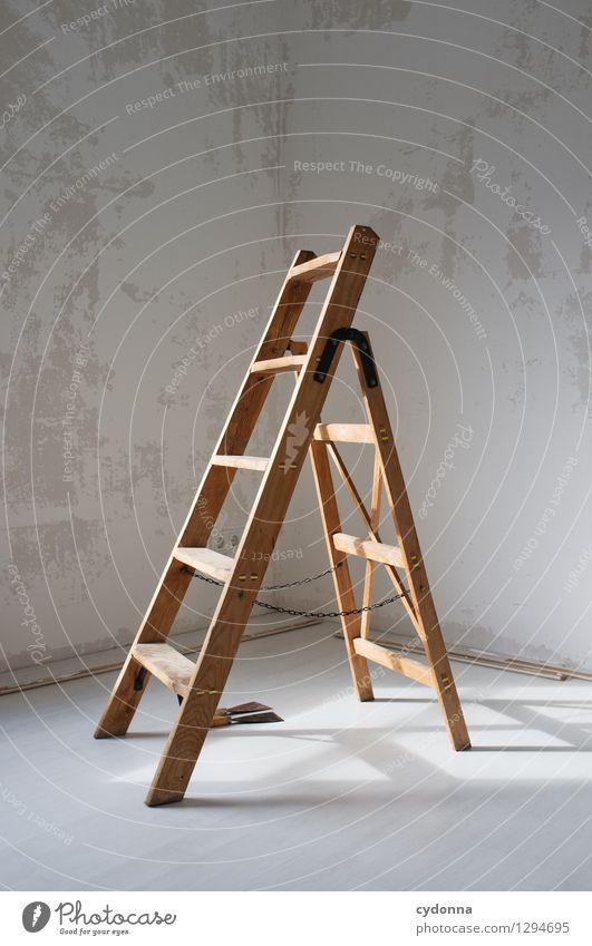 Renovieren Wand Mauer Freiheit Lifestyle Wohnung Raum Häusliches Leben Beginn Kreativität Zukunft Idee Vergänglichkeit einzigartig planen Baustelle