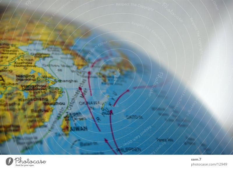 Weltkugel Globus global Singapore weltweit Dinge weltreise