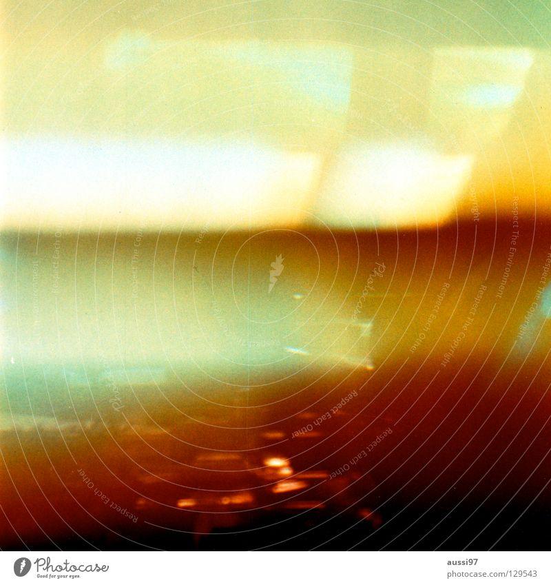 venturesome 5 gelb Lomografie obskur Explosion