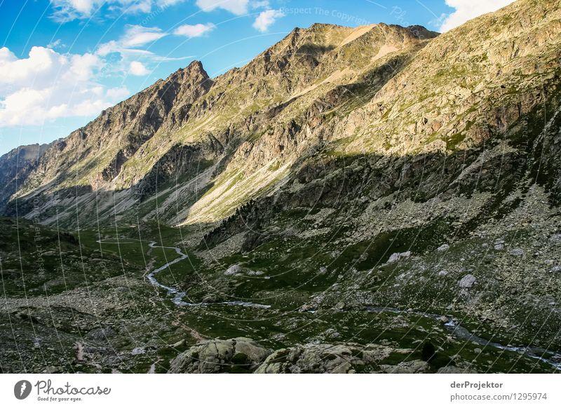 Pyrenäen-Wanderweg 24 Ferien & Urlaub & Reisen Tourismus Ausflug Abenteuer Ferne Freiheit Camping Sommerurlaub Berge u. Gebirge wandern Umwelt Natur Landschaft